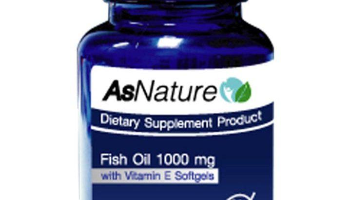 อาหารเสริม AsNature Fish Oil ในการช่วยบำรุงสุขภาพ