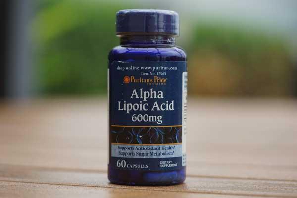 รีวิวสารตัวช่วยในอาหารเสริม Alpha Lipoic Acid