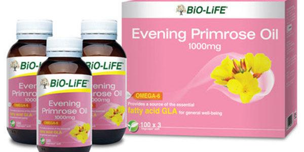 รีวิวอาหารเสริม Evening Primrose Oil